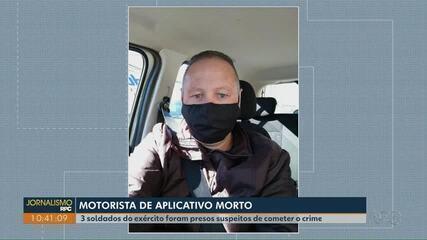 Motorista de aplicativo é morto e soldados do exército confessam o crime à polícia