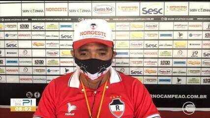 Flávio Araújo volta para o River-PI e fala sobre retorno dos treinos