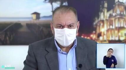 Prefeito de Itajaí quer tratar população com ozônio por via retal contra Covid