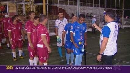 Copa Master no Amapá reúne 32 seleções com normas rígidas de prevenção à Covid-19