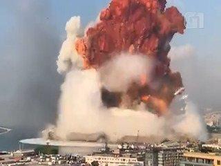 Veja em câmera-lenta a explosão no porto de Beirute, no Líbano
