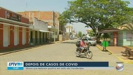 Idosos que testaram positivo em asilo de Campo do Meio são transferidos para escola