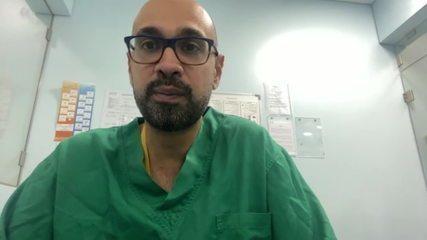 'Hospitais ainda deverão receber pacientes com queimaduras', diz médico brasileiro