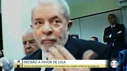 STF retira delação de Palocci em ação penal contra o ex-presidente Lula