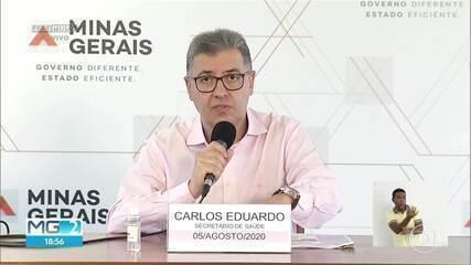 Minas registra 152 novos óbitos em 24h