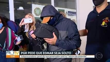 PGR pede que Edmar Santos seja solto