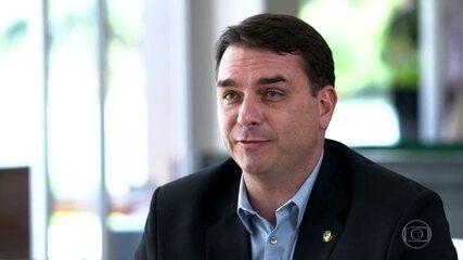 Flávio Bolsonaro pede troca de promotores que investigam esquema de rachadinha na Alerj