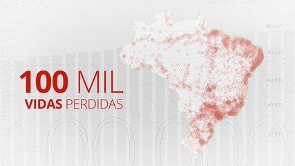 Brasil chega a 100 mil mortes por Covid-19; como chegamos até aqui?