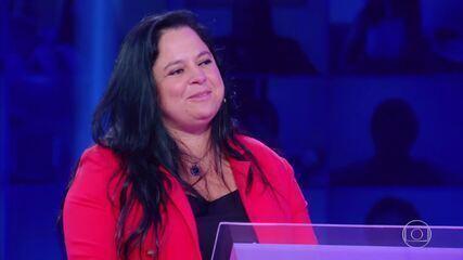 Alessandra Nunes participa do 'Quem Quer Ser Um Milionário?'