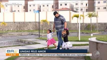 Conheça a história da família que adotou uma criança e depois a irmã, em Feira de Santana