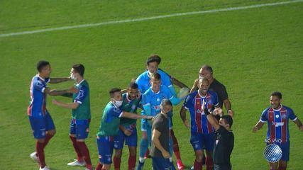 Assista aos gols de Bahia 1 x 1 Atlético de Alagoinhas
