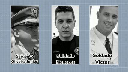 Polícia investiga morte de três policiais militares durante abordagem