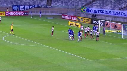 Veja os gols de Cruzeiro 2 x 1 Botafogo-SP, pela Série B do Campeonato Brasileiro