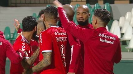 Melhores momentos de Coritiba 0 x 1 Internacional pela 1ª rodada do Campeonato Brasileiro 2020