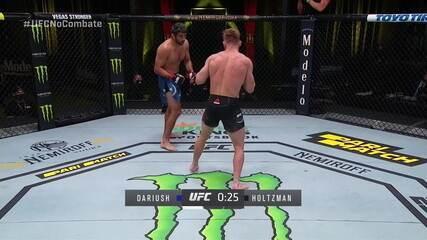 Melhores momentos de Beneil Dariush x Scott Holtzman, pelo UFC Lewis x Oleynik