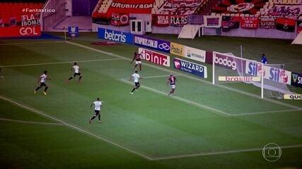 Gols do Fantástico: Atlético-MG vence Flamengo na estreia no Brasileirão; Veja lances