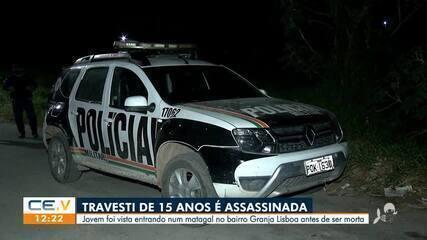 Travesti de quinze anos é assassinada no bairro Granja Lisboa