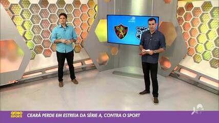 Tom Alexandrino analisa desempenho do Ceará em 1ª rodada do Brasileirão 2020