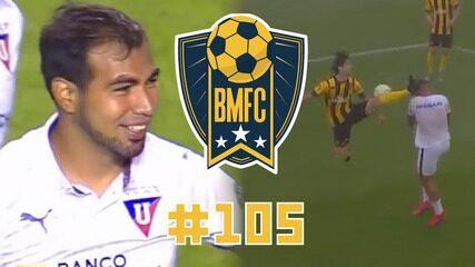 BMFC #105: Pintura do meio da rua de Sornoza, UFC no Uruguai e estreia goleadora de Antony