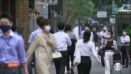 Japão passa a marca dos 50 mil casos desde o início da pandemia do novo coronavírus