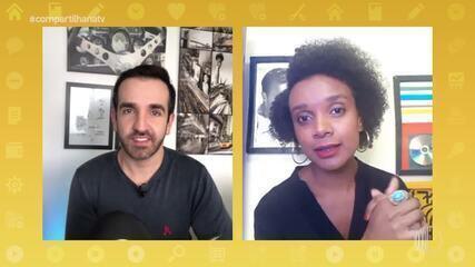"""'Momento Compartilha': cantora fala sobre single """"Fui Pra Ser"""""""