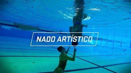 Diário da Missão: brasileiras do nado artístico mostram rotina de treinos em Portugal