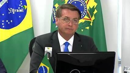 Bolsonaro diz que Brasil tem política de 'tolerância zero' para crimes ambientais
