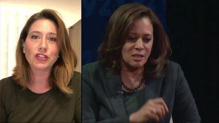 Carolina Cimenti: 'Senadora Kamala Harris é considerada o novo Barack Obama'