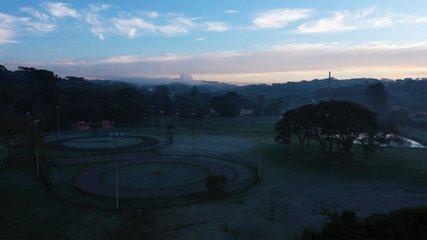 O clima de inverno no Paraná