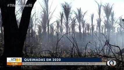 Pessoas prejudicadas para pelas queimadas no ano passado estão se precavendo em 2020