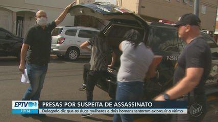 Duas mulheres suspeitas de participar da morte de metalúrgico são presas em São Carlos
