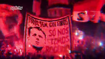 São Paulo homenageia Rogério Ceni no Morumbi