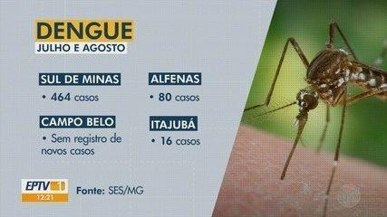Região tem queda de confirmações de dengue, mas doença ainda preocupa