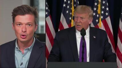 Trump sobre votos pelo correio: 'Será uma catástrofe'