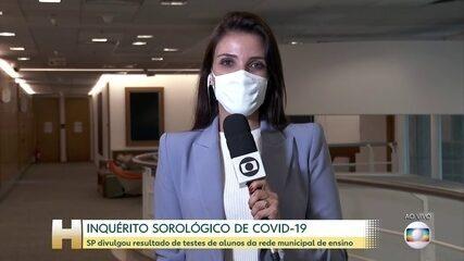 16% das crianças e adolescentes da rede municipal de SP testaram positivo para Covid