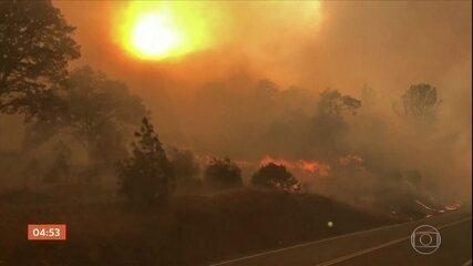 Governador da Califórnia decreta emergência de estado por causa dos incêndios florestais