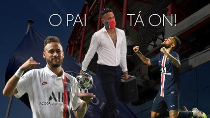 Pai está ligado! Neymar busca o segundo título da Champions League