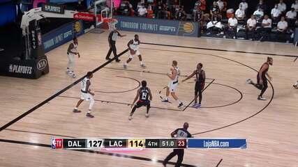 Melhores momentos: Los Angeles Clippers 114 x 127 Dallas Mavericks, pela NBA