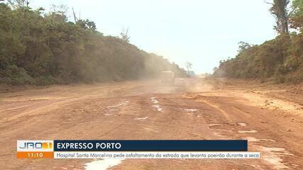 Expresso Porto e o poeirão