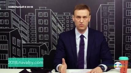 Principal líder de oposição russo Alexei Navalny é internado com suspeita de envenenamento