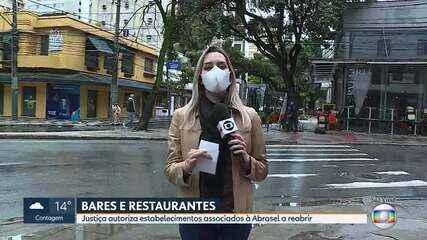 Prefeitura de Belo Horizonte afirma que decisão favorável a Abrasel não altera as regras