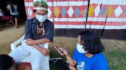 Tecnologia aproxima povos indígenas no combate à covid