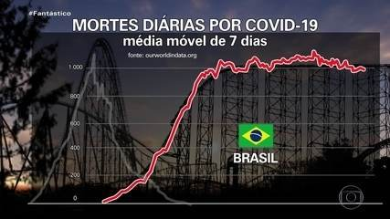 Covid: especialistas explicam por que a curva de casos e mortes no país demora a cair