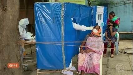 Índia supera a marca de três milhões de casos de Covid-19