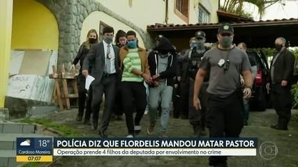 Operação prende cinco filhos e neta de Flordelis pelo assassinato do pastor Anderson