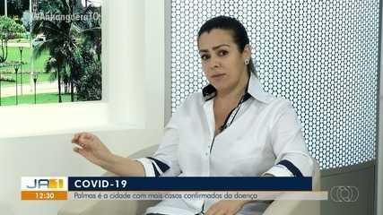 Cinthia Ribeiro comenta o aumento do número de casos de coronavírus em Palmas