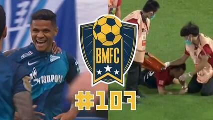 BMFC #107: Gol olímpico em Belarus, pintura de ex-Galo na Rússia e maca bizarra na China