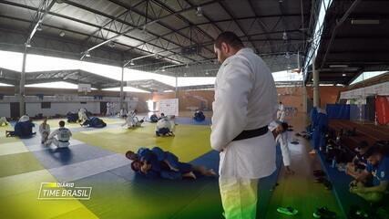 Rafael Silva e Ellen Santana mostram a rotina dos judocas brasileiros em Portugal