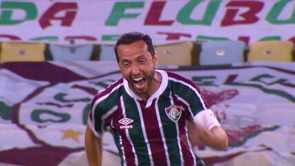 Os gols de Fluminense 3 x 0 Figueirense, pela Copa do Brasil