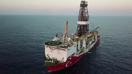 Turquia e Grécia disputam área rica em petróleo no Mar Mediterrâneo